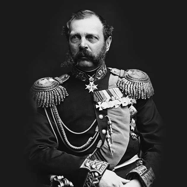 Фото імператора Олександра ІІ (1818-1881)