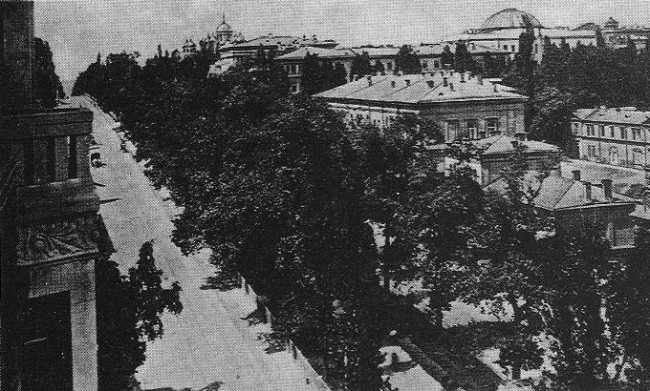 "Photo from hotel ""Palace"" on Bibikovsky Boulevard, 1913"
