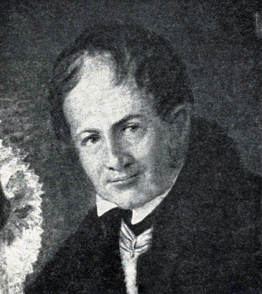 Photo V.Beretti (1781-1842), under whose guidance prepared and approved a new long-term plan of the city